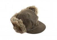 Καπέλο καφέ  με γούνα